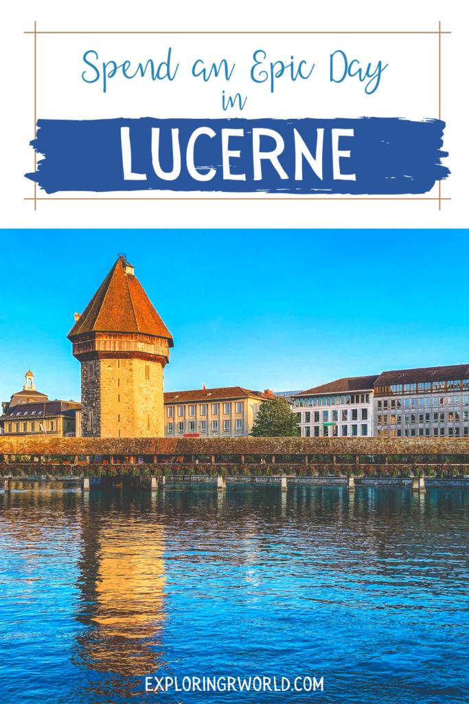 Lucerne Chapel Bridge - Exploringrworld.com