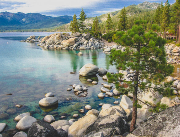 Lake Tahoe in Fall